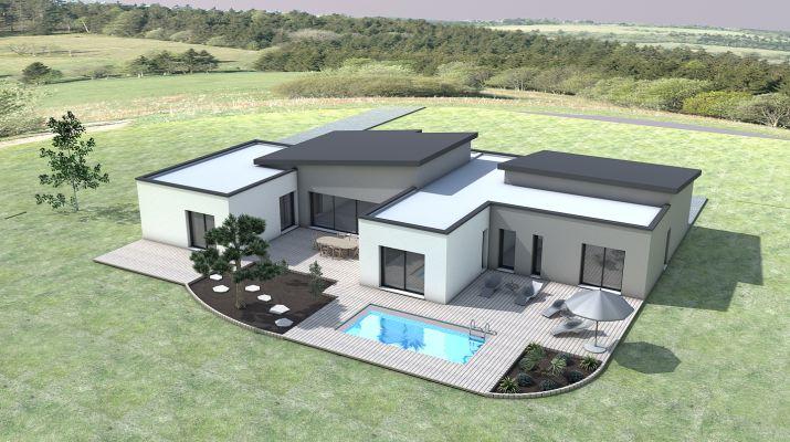 Maison de plain-pied 180m²