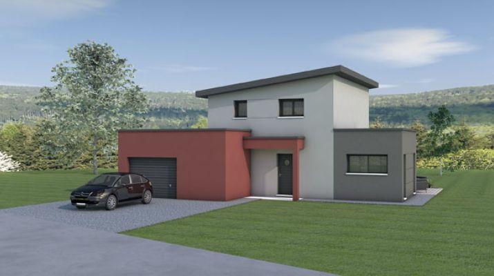 Maison à étage 92m²